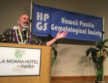 Dave Nassaney Speaking at HPGS, Ala Moana Hotel, Honolulu, Hawaii 2