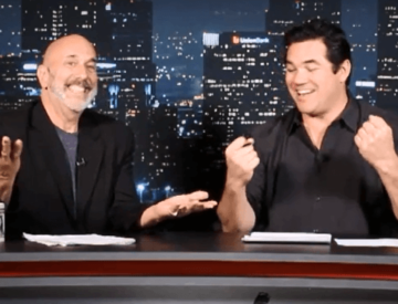 Dave Nassaney with Dean Cain interview