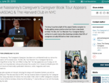 Dave Nassaney Book Tour Includes Nasdaq Market Site, 2018