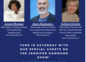 Caregiver Dave at Jennifer Hammond Radio Show