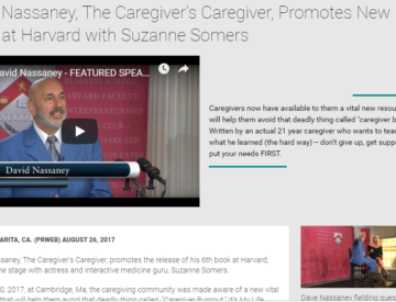 Press Release, Dave Nassaney Speaks at Harvard Faculty Club 2017