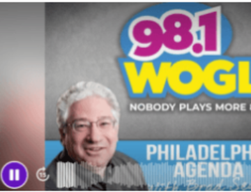 Caregiver Dave at Brad Segal WOGL Radio Philadelphia, PA