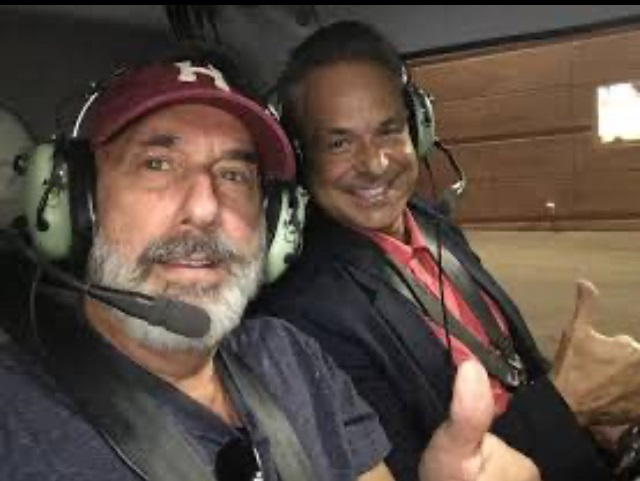 Clint Arthur and I in Chopper 1