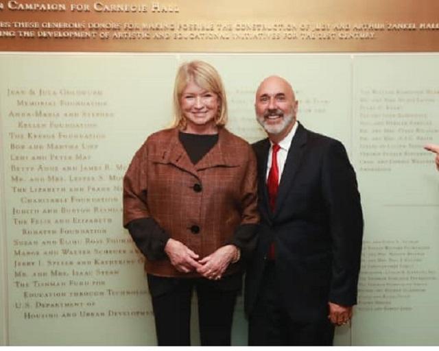Martha Stewart–Carnegie Hall